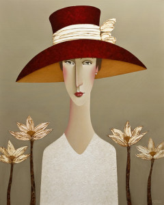 "SOLD ""Savanna,"" by Danny McBride 24 x 30 – acrylic $3000 (thick canvas wrap without frame)"