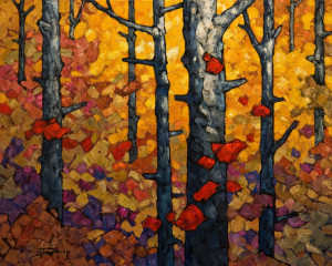 "SOLD ""September Light,"" by Phil Buytendorp 16 x 20 – oil and acrylic $1475 Unframed"