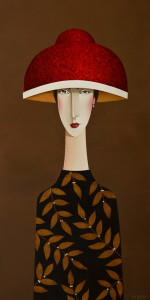 "SOLD ""Tessa Revisited,"" by Danny McBride 18 x 36 – acrylic $2800 Unframed"