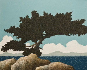 """Afternoon Breeze,"" by Ken Kirkby 16 x 20 - oil $960 Unframed"
