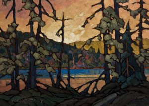 "SOLD ""Evening Tangle,"" by Phil Buytendorp 10 x 14 - oil $1030 in show frame $800 Unframed"