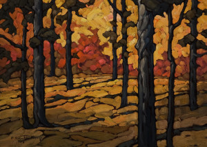 "SOLD ""From Summer to Fall,"" by Phil Buytendorp 10 x 14 - oil $1015 in show frame $800 Unframed"