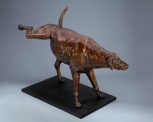 "UNAVAILABLE ""Prima Ballerina,"" by Nicola Prinsen 46"" (L) x 31 1/2"" (H) - bronze Edition of 9 $15,000"