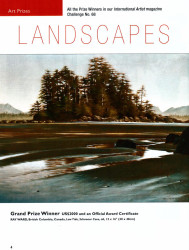 Ray Ward Grand Prize International Artist Magazine's landscape competition Spring 2012 Page 1