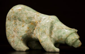 "SOLD ""Aurora,"" by Marilyn Armitage Soapstone 12 1/2"" (L) x 8"" (H) $1150"