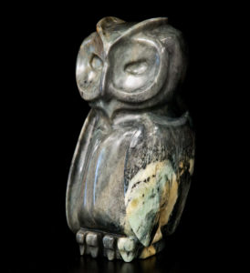 """SOLD """"Branching Out,"""" by Marilyn Armitage Brazilian soapstone 11"""" (H) $850"""