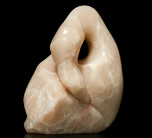 "SOLD ""Choice of Bird,"" by Marilyn Armitage Brazilian soapstone 10 1/2"" (H) $600"