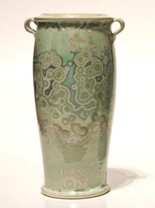 "SOLD Vase (BB-3383) by Bill Boyd crystalline-glaze ceramic - 8 1/2"" (H) $230"