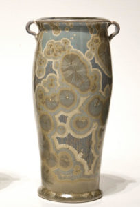 "SOLD Vase (BB-3386) by Bill Boyd crystalline-glaze ceramic - 9"" (H) $260"