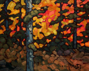 "SOLD ""Bits of Orange,"" by Phil Buytendorp 8 x 10 - oil $520 Unframed $700 in show frame"