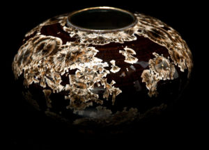 "SOLD Vase (BB-3228) by Bill Boyd crystalline-glaze ceramic - 4 3/4"" x 7 3/4"" $325"