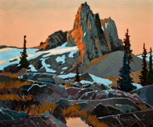 "SOLD ""An Afternoon at Black Tusk,"" by Robert Genn 20 x 24 – acrylic $6400 Unframed"