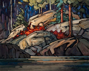 "SOLD ""Algonquin Memory,"" by Phil Buytendorp 16 x 20 – oil $1330 Unframed"