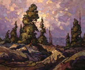 "SOLD ""Bear Country,"" by Phil Buytendorp 20 x 24 – oil $1515 Framed"