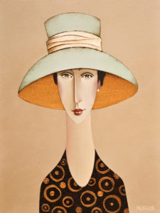 "SOLD ""Emma,"" by Danny McBride 12 x 16 – acrylic $1250 Unframed"