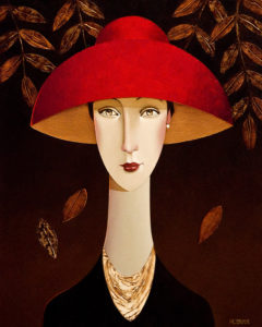 "SOLD ""Georgia,"" by Danny McBride 16 x 20 – acrylic $1900 Unframed"