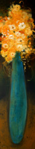 "SOLD ""Harmony,"" by Susan Flaig 12 x 48 – acrylic $1030 Unframed"
