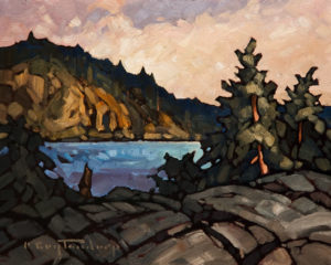 "SOLD ""Harrison Perspective,"" by Phil Buytendorp 8 x 10 – oil $520 Unframed"