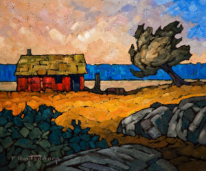 "SOLD ""In the Open,"" by Phil Buytendorp 10 x 12 - oil $660 Unframed $860 in show frame"