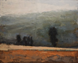 "SOLD ""Loin de la Route,"" by Robert P. Roy (Distant Road) 24 x 30 – acrylic $1200 Unframed"