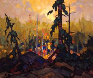 "SOLD ""Morning Colour,"" by Phil Buytendorp 10 x 12 – oil $710 Framed"