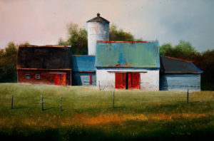 "SOLD ""Morning Light,"" by Mark Fletcher 20 x 30 – acrylic $2090 Unframed"