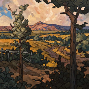 "SOLD ""Near Black Diamond,"" by Phil Buytendorp 24 x 24 – oil $1700 Unframed"