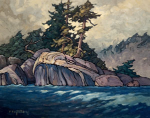 "SOLD ""The Northern Tip,"" by Phil Buytendorp 16 x 20 – oil $1100 Unframed"