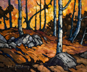 "SOLD ""On Sumas Mountain,"" by Phil Buytendorp 10 x 12 - oil $660 Unframed $860 in show frame"