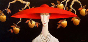 "SOLD ""The Orchard,"" by Danny McBride 24 x 48 – acrylic $3200 Unframed"