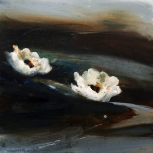 "SOLD ""Pure and Simple,"" by Susan Flaig 24 x 24 – acrylic/graphite $1375 Unframed"