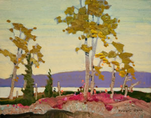 "SOLD ""River Balmy, MacKenzie,"" by Robert Genn 11 x 14 – acrylic $2400 Unframed"