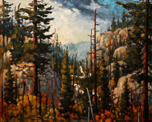 "SOLD ""September, White Pass,"" by Rod Charlesworth 24 x 30 – oil $2700 Unframed"