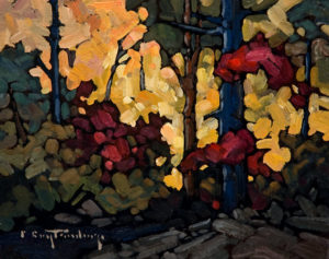 "SOLD ""September Bush,"" by Phil Buytendorp 8 x 10 – oil $470 Unframed"