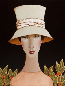 "SOLD ""Serena,"" by Danny McBride 12 x 16 – acrylic $1250 Unframed $1400 Custom framed"