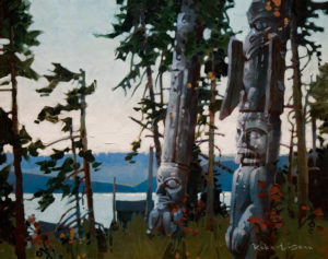 "SOLD ""Silent Spirits,"" by Robert Genn 16 x 20 – acrylic $4000 Unframed"