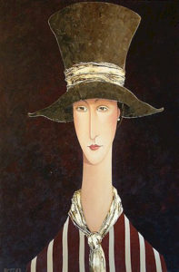 "SOLD ""Vienna,"" by Danny McBride 24 x 36 – acrylic $3180 Framed"