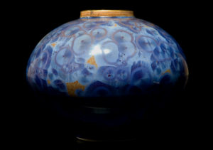 "Vase (3057) by Bill Boyd 5 1/2"" (H) - crystalline-glaze ceramic $200"