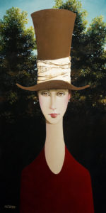 "SOLD ""Clair,"" by Danny McBride 12 x 24 - oil $1800 (thick canvas wrap without frame)"