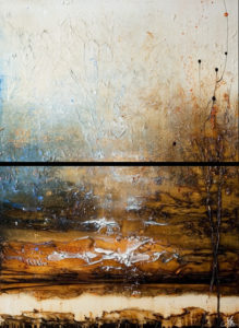 "SOLD ""Replenish,"" by Laura Harris diptych - 36 x 48 overall size - acrylic $5180 unframed (thick canvas wrap)"