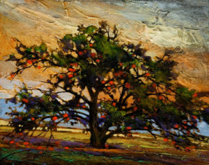 "SOLD ""Ripe,"" by David Langevin 8 x 10 - acrylic $640 Framed"