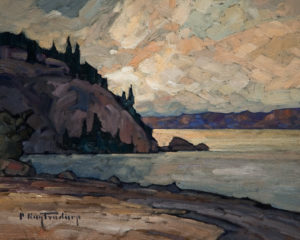 "SOLD ""Sandy Shore,"" by Phil Buytendorp 8 x 10 - oil $430 Unframed $595 with Show frame"