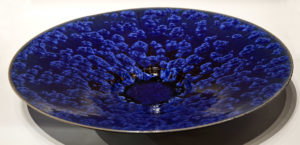 "SOLD Wall-hang bowl (3084) – 20"" by Bill Boyd $950"