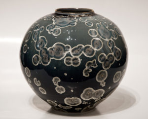 "SOLD Vase (3087) – 7 1/2"" x 8 1/2"" by Bill Boyd $400"