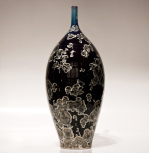 "SOLD Bottle (3089) – 5 1/2"" x 13 1/2"" by Bill Boyd $425"