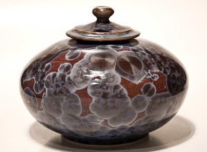 "SOLD Vessel (BB-3379) by Bill Boyd crystalline-glaze ceramic – 6 1/2"" (H) $400"