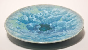 "SOLD Bowl (BB-3553) by Bill Boyd crystalline-glaze ceramic – 10 3/4"" $155"