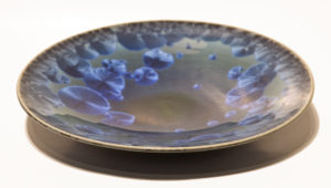 "SOLD Bowl (BB-3691) by Bill Boyd crystalline-glaze ceramic – 11"" $165"