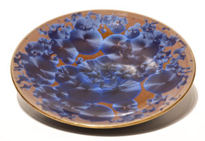 "SOLD Bowl (BB-3692) by Bill Boyd crystalline-glaze ceramic – 9"" $120"