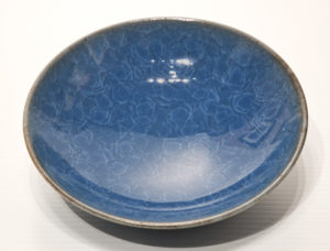 "SOLD Bowl (BB-3785) by Bill Boyd crystalline-glaze ceramic – 6 1/2"" (W) $80"
